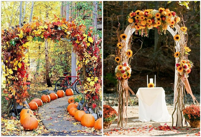 21 incredibly amazing fall wedding decoration ideas junglespirit Gallery
