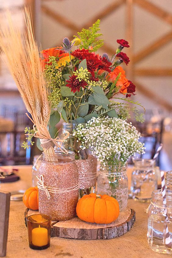 Incredibly amazing fall wedding decoration ideas