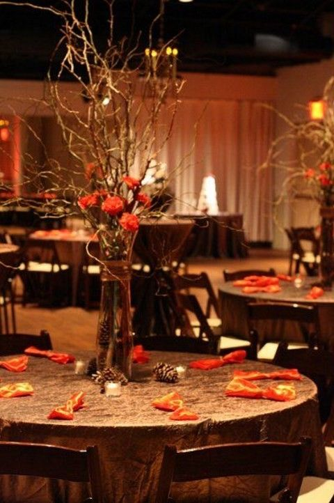 Fall Wedding Centerpieces That Inspire