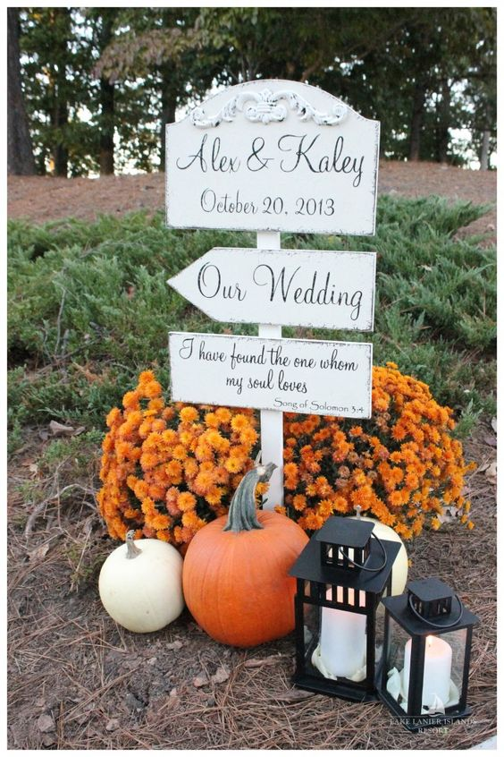 Fall Weddings at Lake Lanier Islands