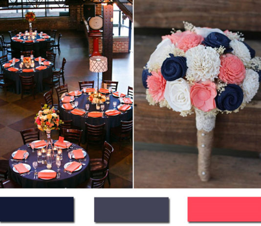 Stunning Navy Blue Wedding Color Ideas
