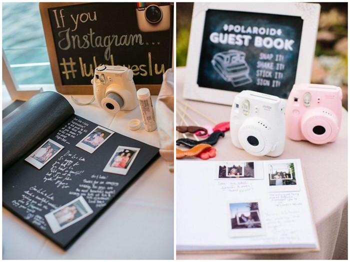 7 Creative Polaroid Wedding Ideas Too Cool To Pass Up