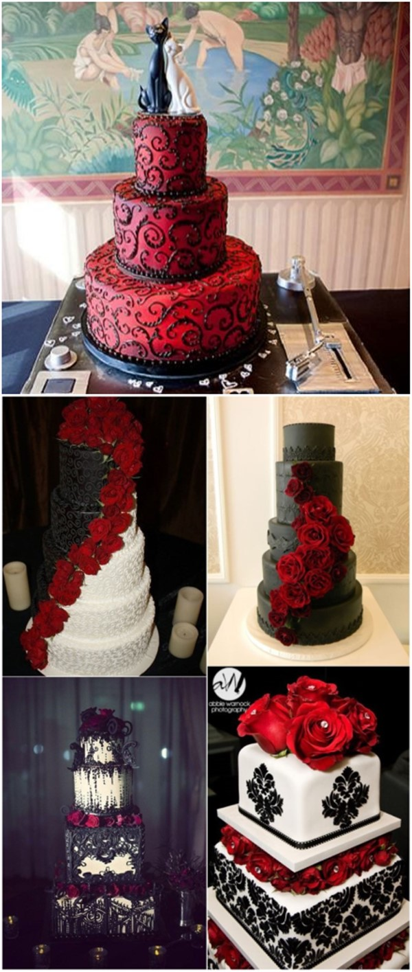 18 Black And Red Wedding Color Ideas Mrs To Be