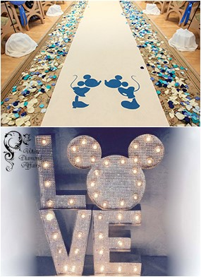 Disney Wedding Decoration Ideas