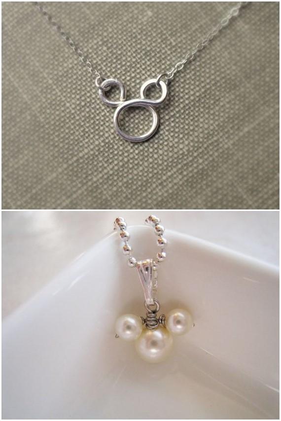 Swarovski Crystal Drop Mickey Mouse Necklace