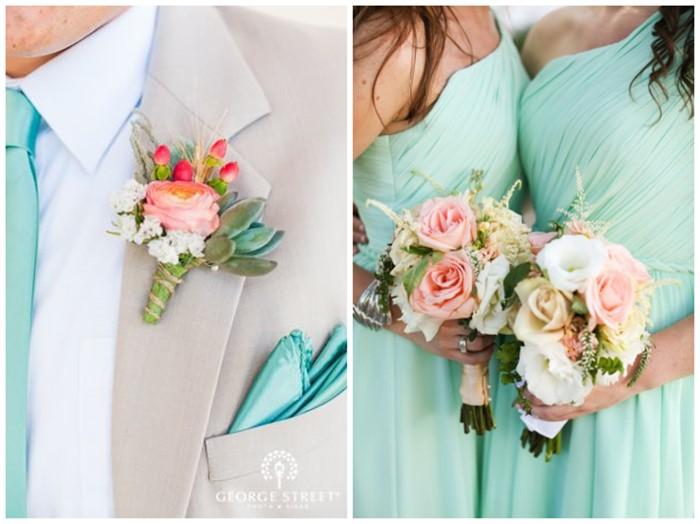 Tiffany blue inspired wedding color ideas junglespirit Image collections