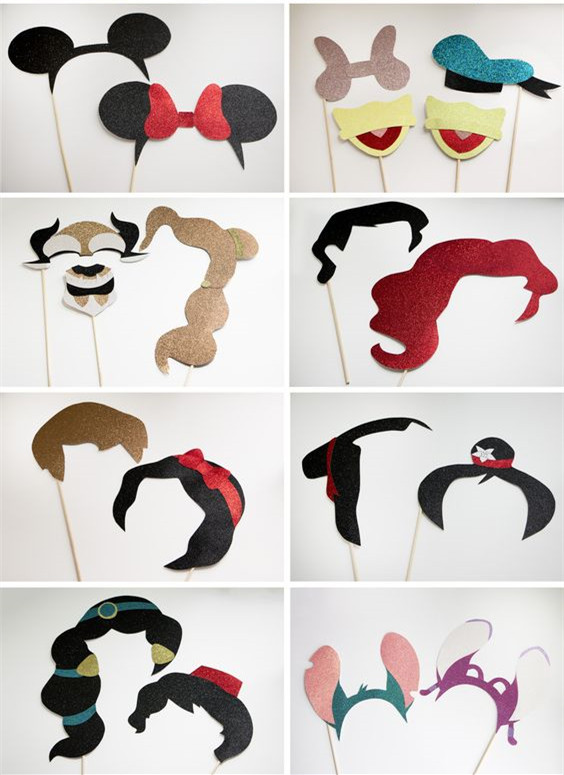 add some Disney fun in your photo booth