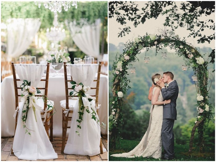Breathtaking green and white wedding ideas to rock junglespirit Choice Image