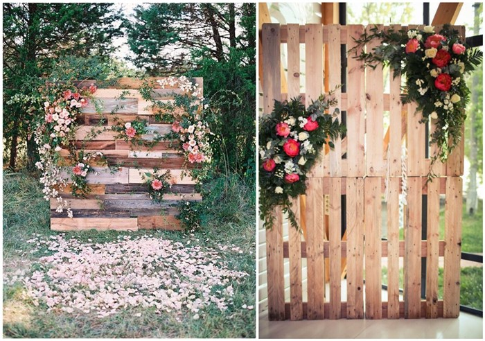Heart melting wedding backdrop ideas to love junglespirit Image collections
