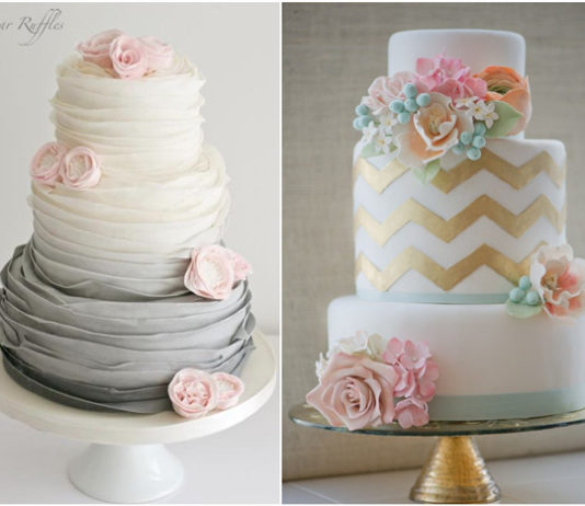 6 Latest Wedding Cakes Trends too Adorable to Miss!