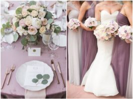 Chic and Romanic Mauve Wedding Color Ideas