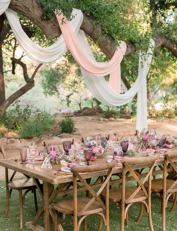 Chic and Romanic Mauve Wedding Color Ideas for 2018 Wedding