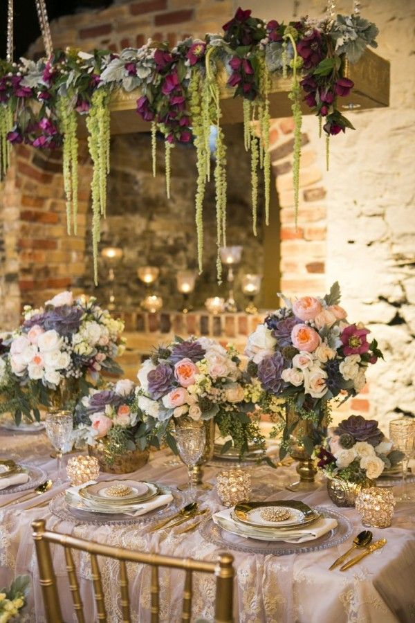 Fall in love with these 20 hanging wedding decorations junglespirit Choice Image
