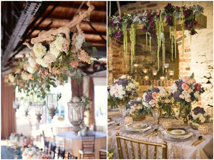 FALL IN LOVE with These 20 Hanging Wedding Decorations