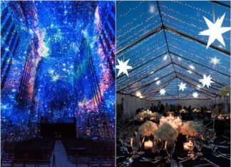 Romantic Starry Night Wedding Ideas You Can't Resist