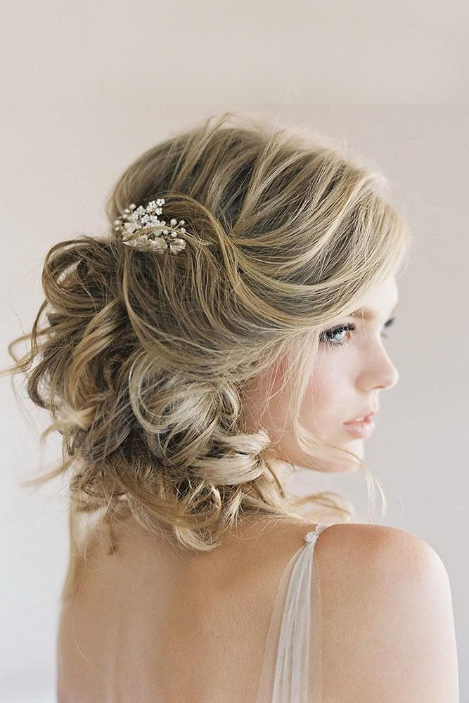 Stylish wedding hairstyles for short hair 18 stylish wedding hairstyles for short hair junglespirit Gallery
