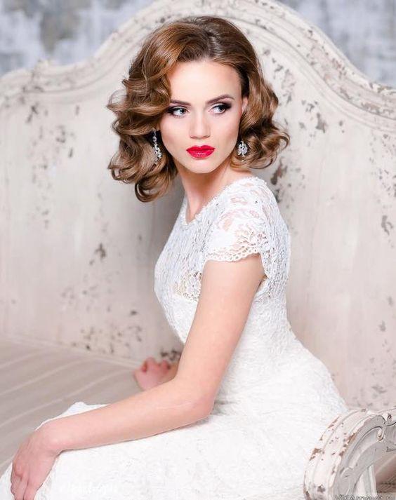 18 Stylish Wedding Hairstyles For Short Hair