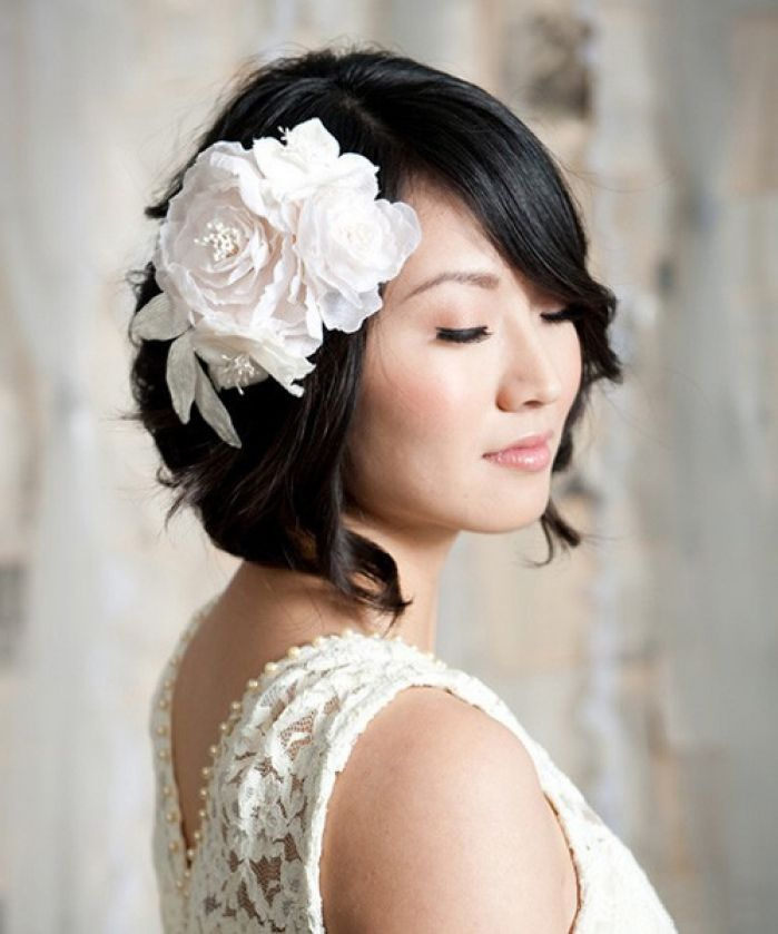 18 Stylish Wedding Hairstyles For Short Hair Mrs To Be,Principles Of Ecological Landscape Design