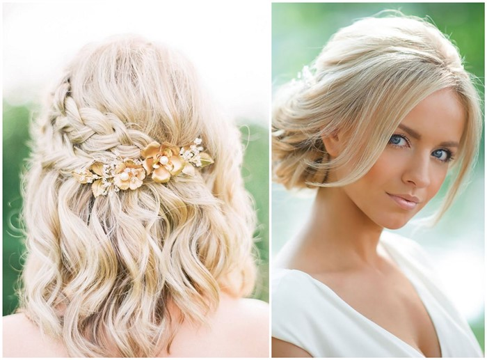 Wedding Hair Hairstyles: 18 Stylish Wedding Hairstyles For Short Hair