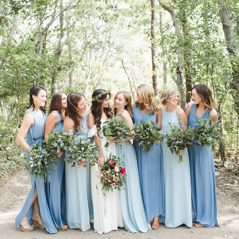 2711ab90b0 18 Reasons Why We Love Mismatched Bridesmaid Dresses