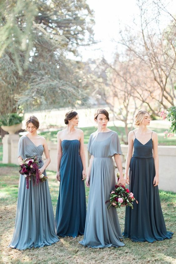 fa770f45c00 18 Reasons Why We Love Mismatched Bridesmaid Dresses
