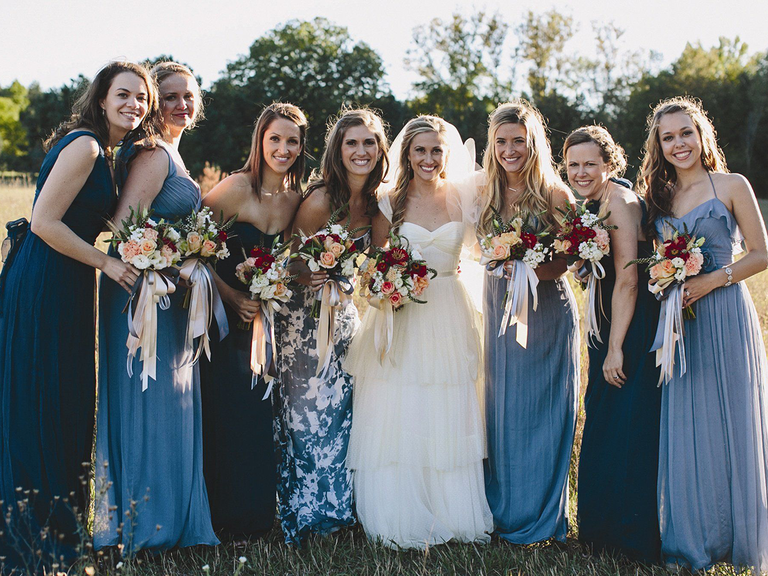 18 Reasons Why We Love Mismatched Bridesmaid Dresses