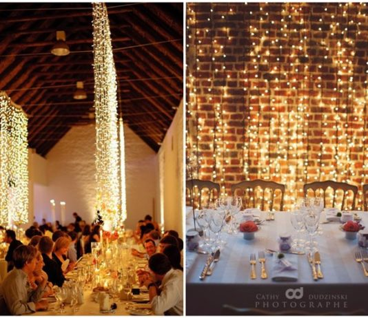 30 Stunning And Creative String Lights Wedding Decor Ideas: Inspiration For Wedding, Fashion And Lifestyle