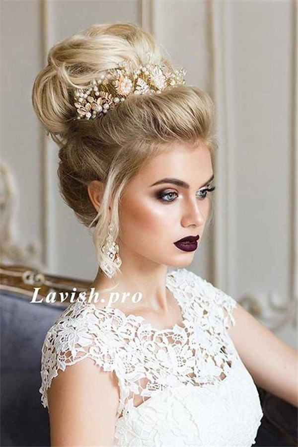 50 Dreamy Wedding Hairstyles For Long Hair: 50 Attractive Wedding Hairstyles For Long Hair