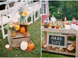 50+ Warm and Eye-catching Fall Wedding Ideas You Can't Resist
