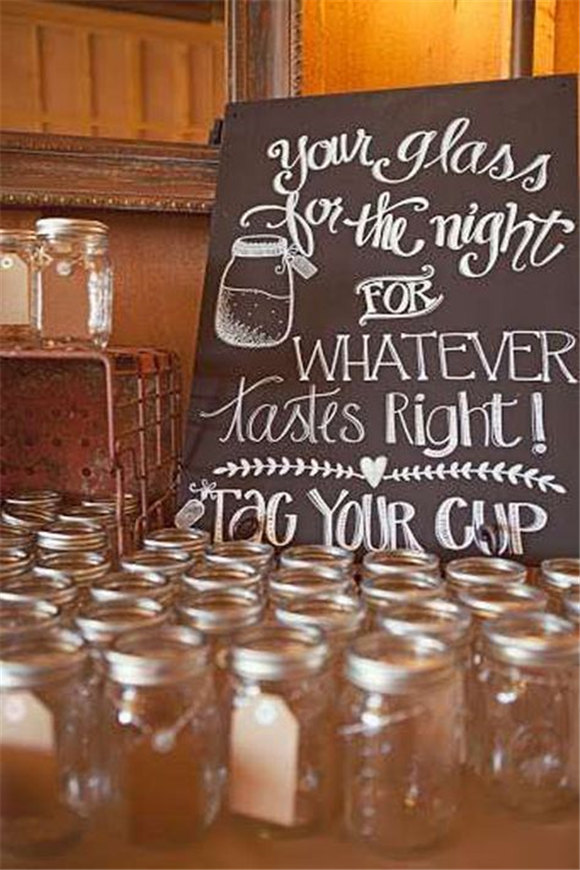 Unique and affordable country wedding favors