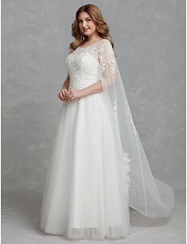 Beautiful wedding dresses with an illusion neckline