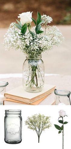 DIY for simple wedding centerpieces