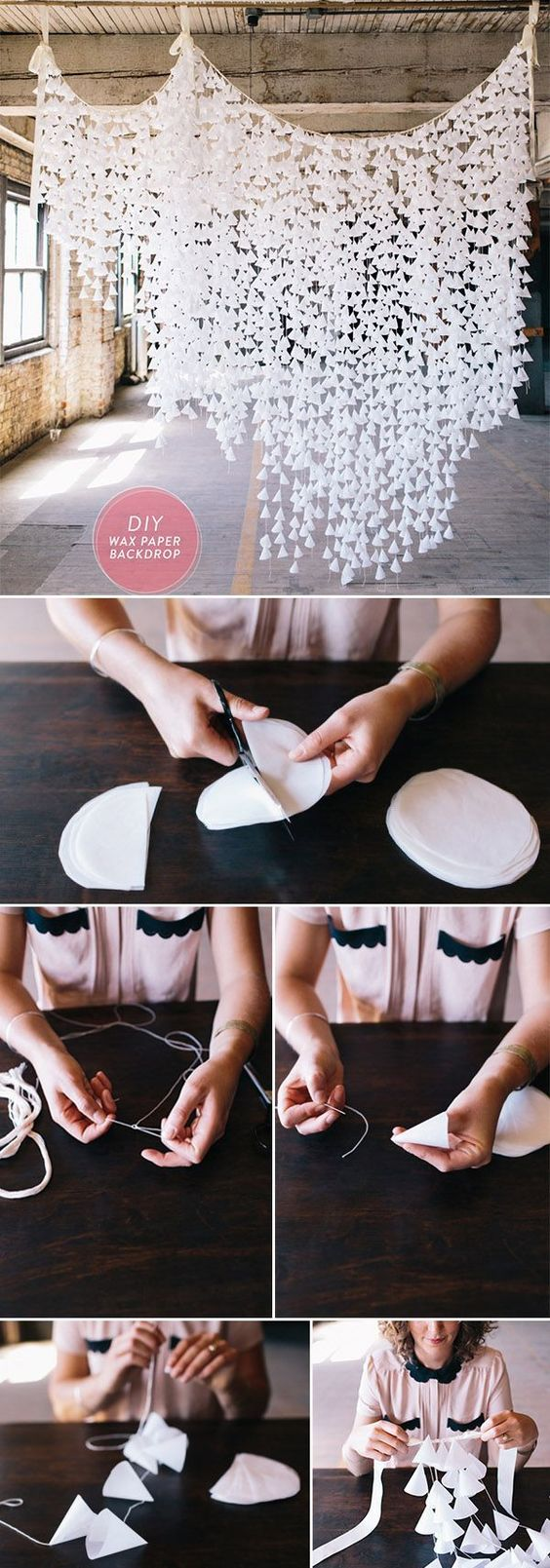 DIY wedding décor ideas