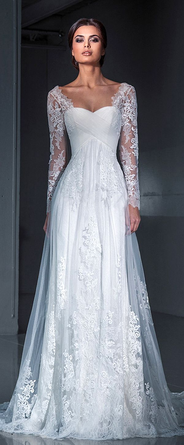 Delightful Wedding Dresses with Sleeves