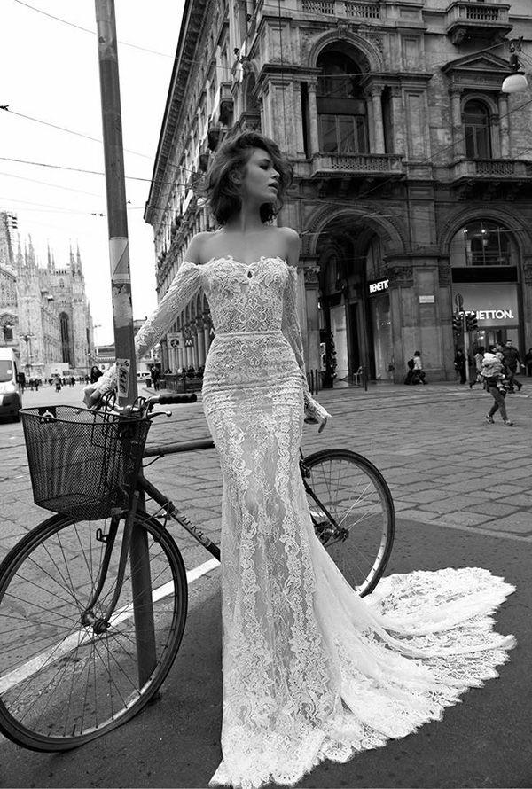 Elegant Off-the-Shoulder Wedding Dresses