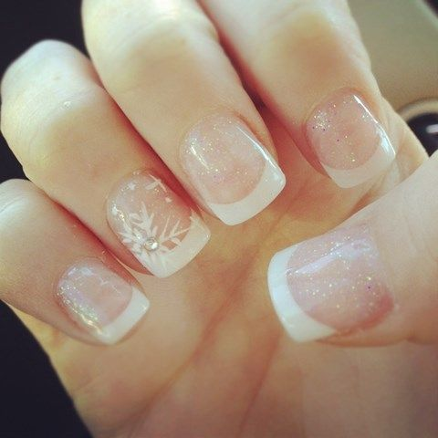 Winter Wedding Nails Ideas