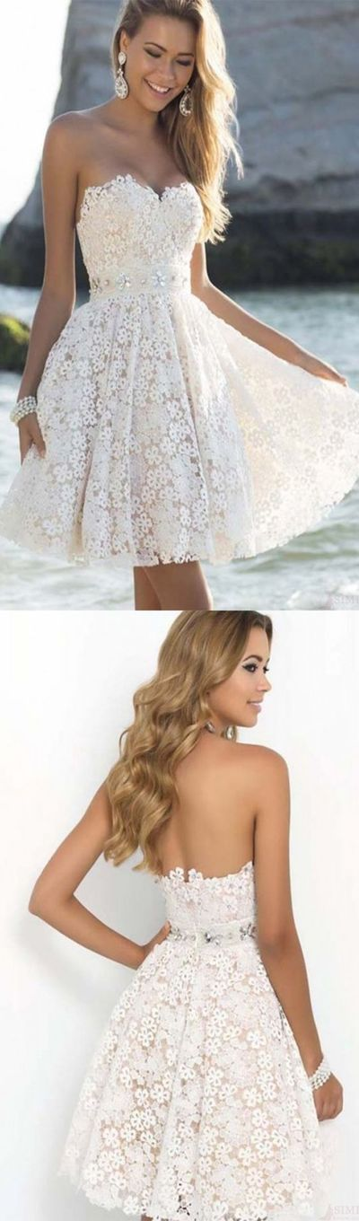amazing short and knee length wedding dresses