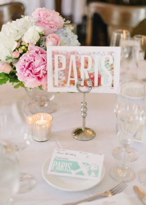 Awesome Ideas for Travel-Themed Weddings