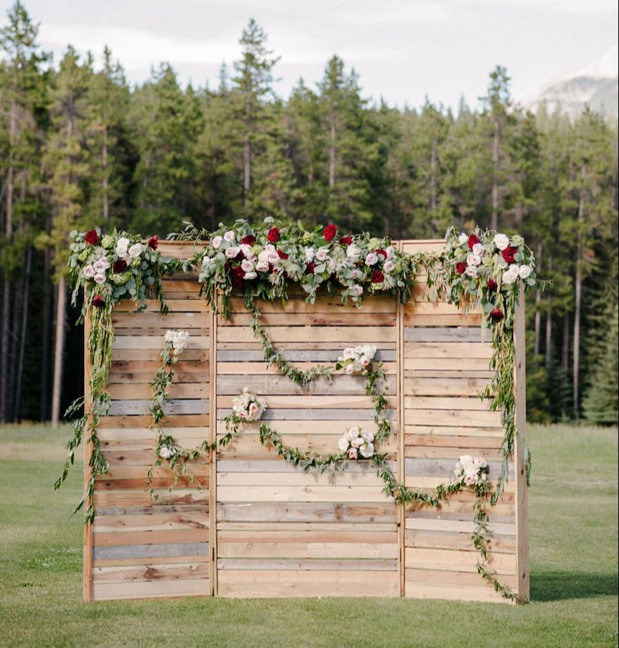 38 Floral Wedding Backdrop Ideas For 2019