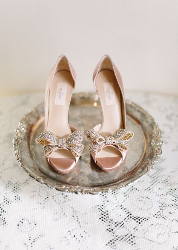 Gorgeous Pairs of Rose Gold Wedding Shoes To Try