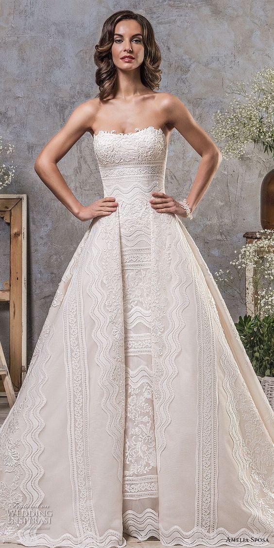 Gorgeous Wedding Dresses for Older Brides