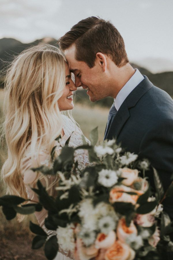 Romantic First Look Wedding Pictures That Really Inspire