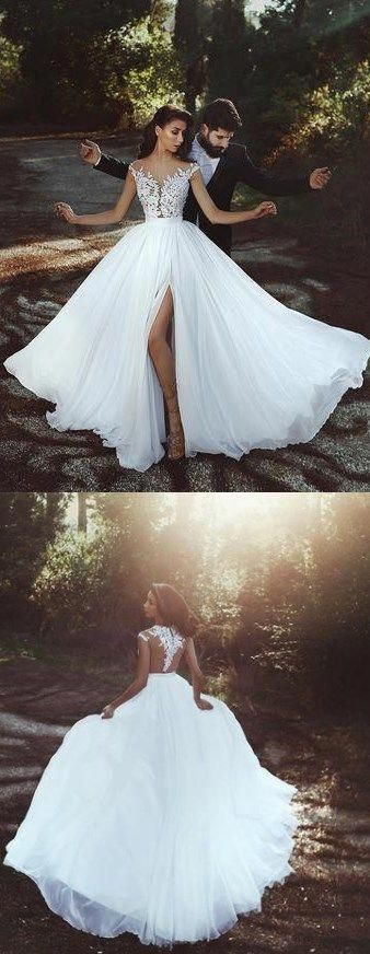 Sexy Thigh Split Wedding Dresses for Your Big Day