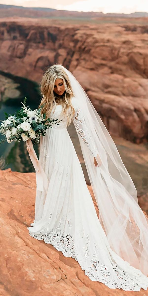 The best influencer wedding dresses