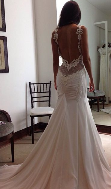 fabulous fishtail wedding dresses
