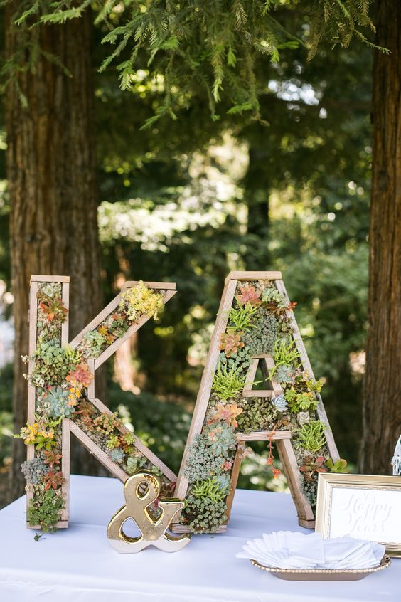 Succulent Wedding Ideas That Are In Trend