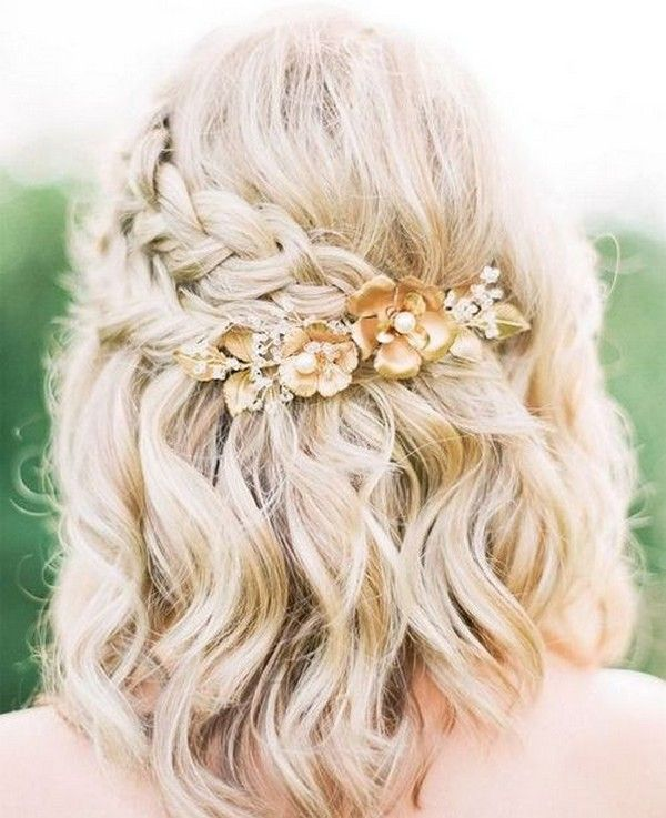 24 Medium Length Wedding Hairstyles For 2020