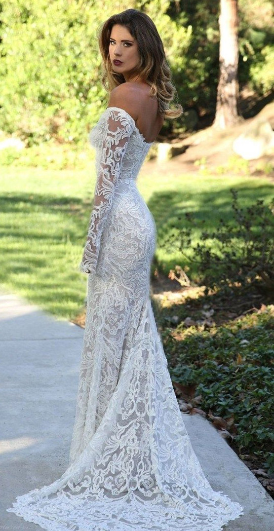 Fall Wedding Dresses with Amazing Details