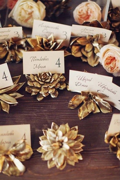 Luxurious Gold Wedding Décor Ideas to Rock