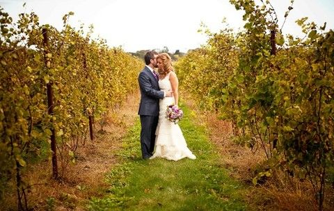 Rustic Fall Vineyard Wedding Ideas